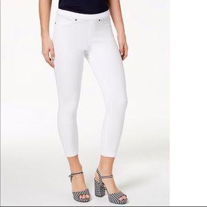 Hue original denim Capri leggings
